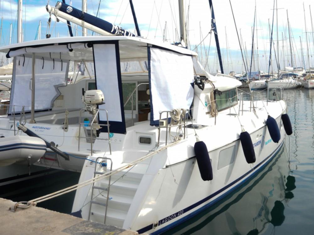 Location yacht à Marina Gouvia - Lagoon Lagoon 420 sur SamBoat