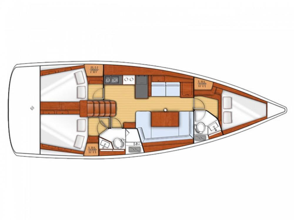 Location bateau Μαρίνα Αλίμου pas cher Oceanis 41