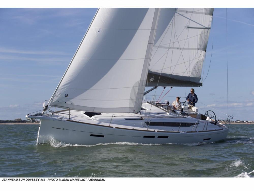 Louez un Jeanneau Sun Odyssey 419 à Follonica