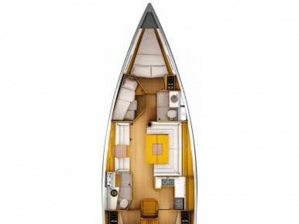 Location bateau Follonica pas cher Sun Odyssey 449