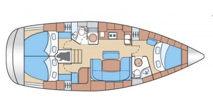 Location bateau Bavaria Cruiser 39 à Castiglione della Pescaia sur Samboat