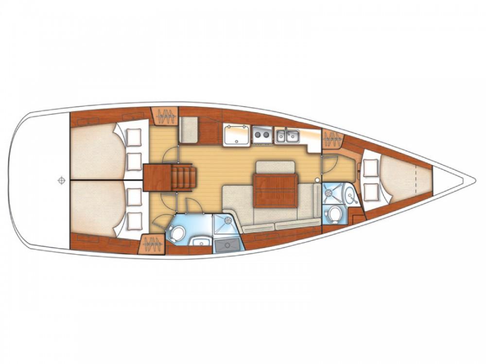 Location yacht à Castiglione della Pescaia - Bénéteau Oceanis 40 sur SamBoat
