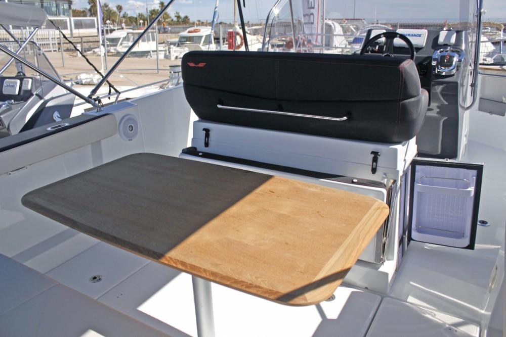 Rental Motor boat in Cambrils - Bénéteau Flyer 8.8 SPACEdeck