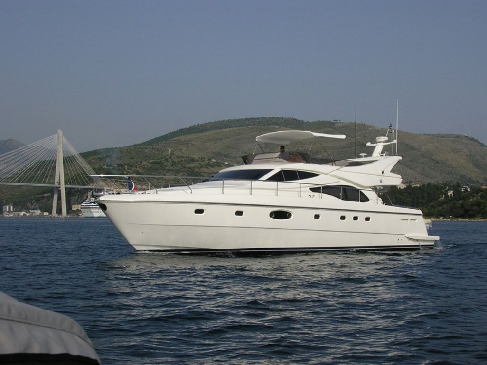 Rental Motor boat in Croatia - Ferretti-Yachts-Group Ferretti 591