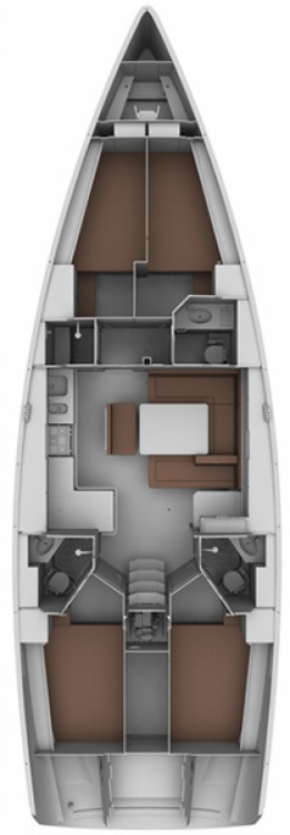 Boat rental Bavaria Cruiser 45 in Lefkada on Samboat