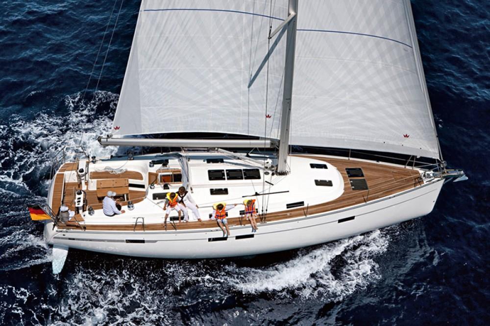 Bavaria Cruiser 45 between personal and professional Lefkada