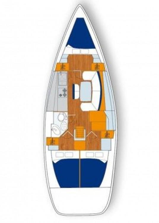 Rental Sailboat in Attica - Bénéteau Cyclades 39