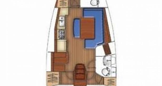Location bateau Grèce-Centrale pas cher Oceanis 40