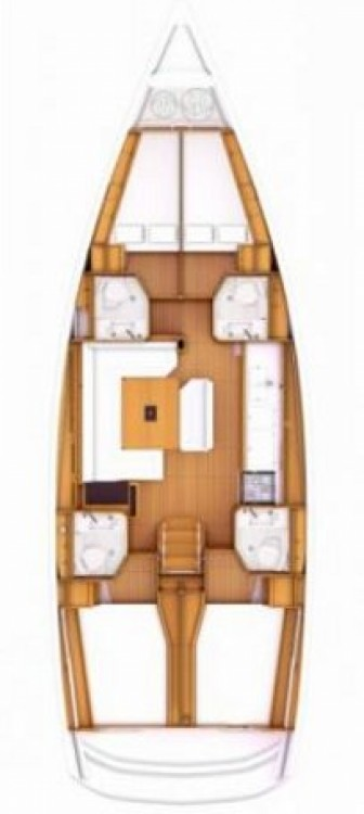 Rental yacht Attica - Jeanneau Sun Odyssey 469 on SamBoat