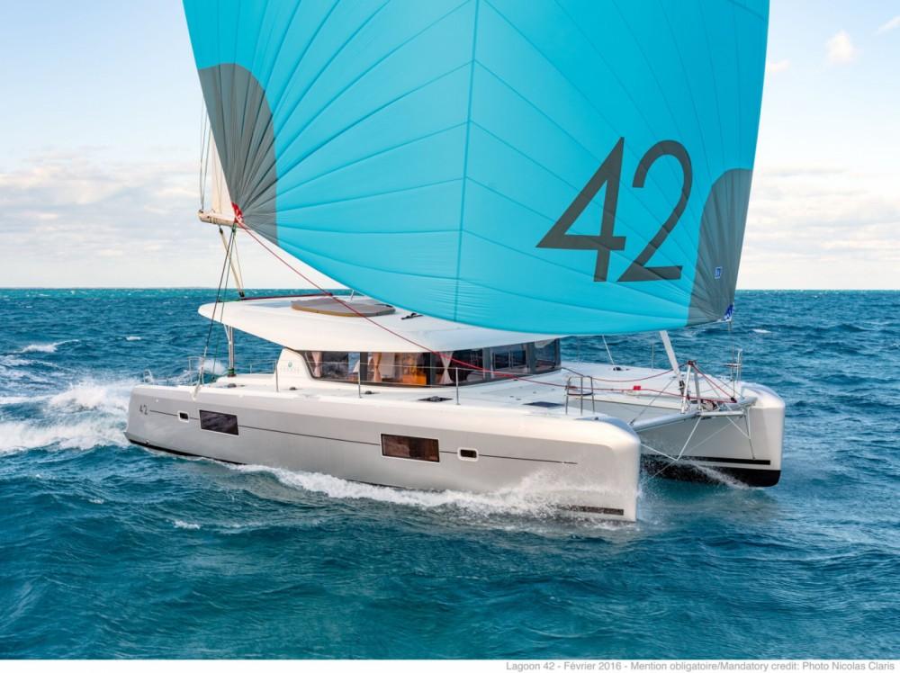Location yacht à Tortola - Lagoon Lagoon 42 sur SamBoat