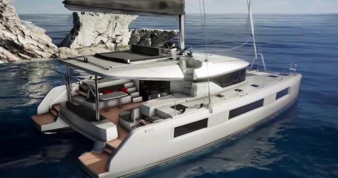 Location bateau Marina Cay pas cher Lagoon 50