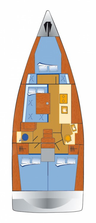 Boat rental Palma cheap Oceanis 38