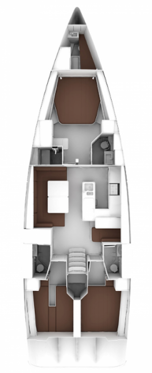 Bavaria Cruiser 56 zwischen Privatpersonen und professionellem Anbieter Salerno