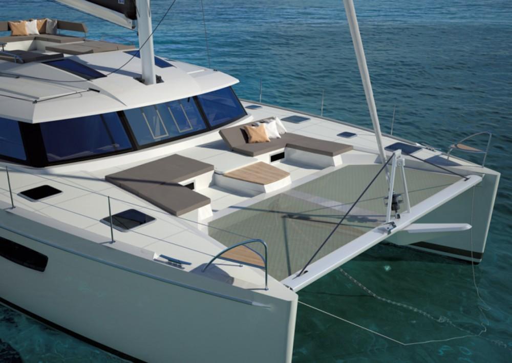 Rental Catamaran in Furnari - Fountaine Pajot Saba 50