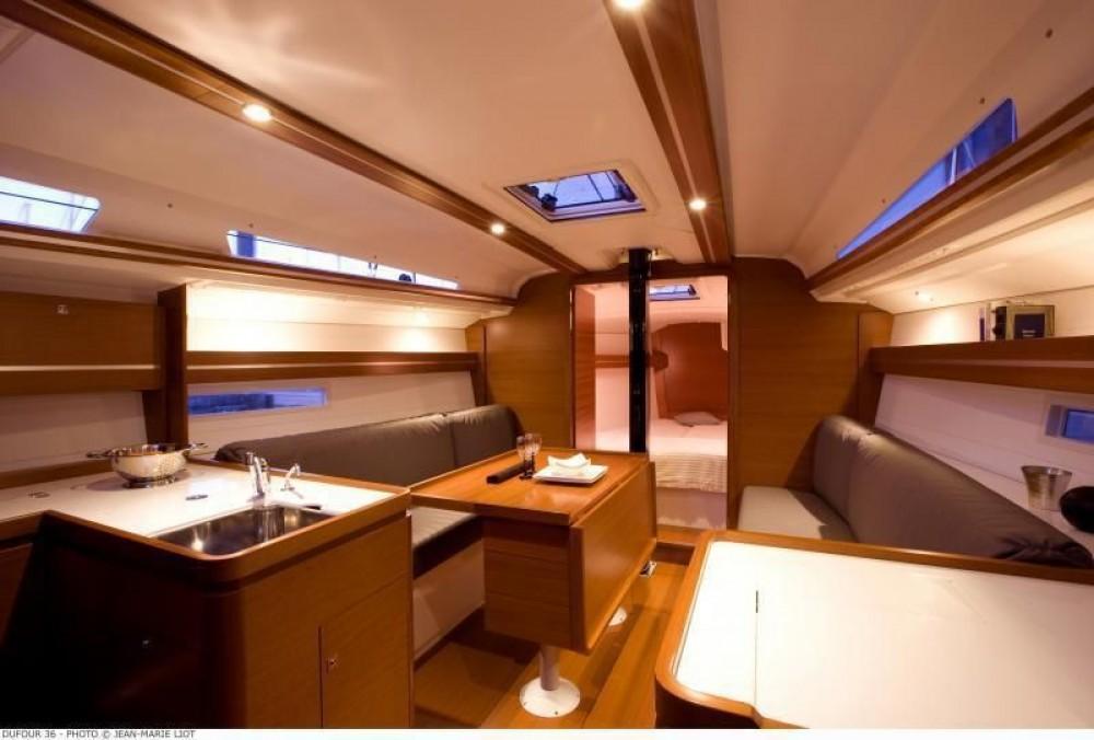 Boat rental Furnari cheap Dufour 360 Grand Large