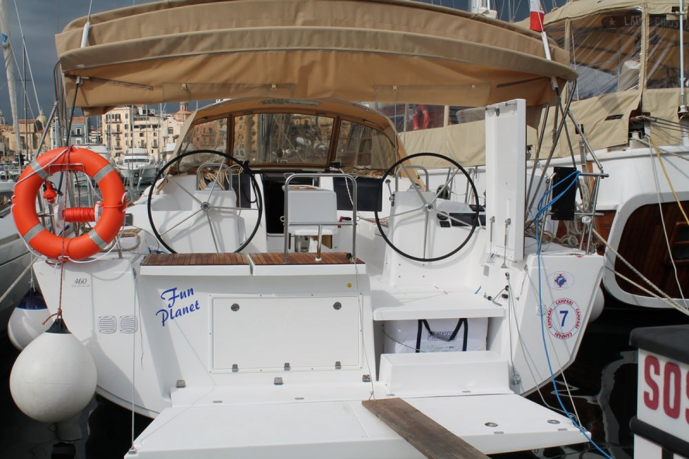 Boat rental Palermo cheap Dufour 460 Grand Large