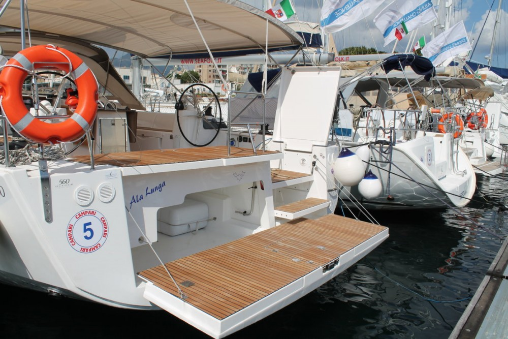 Dufour Dufour 560 Grand Large between personal and professional Palermo