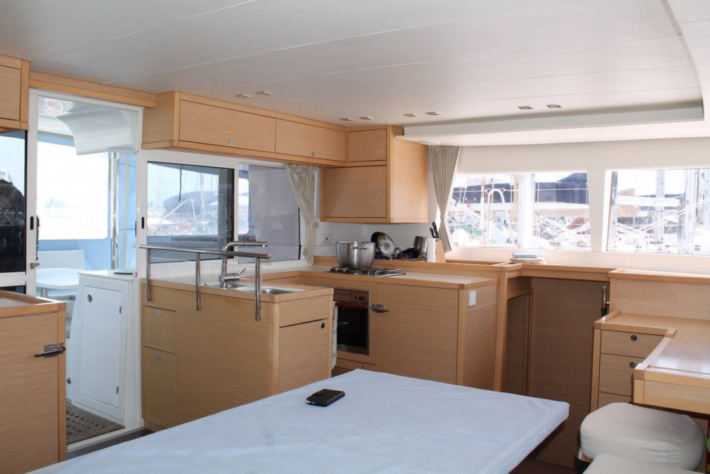 Boat rental Marsala cheap Lagoon 450
