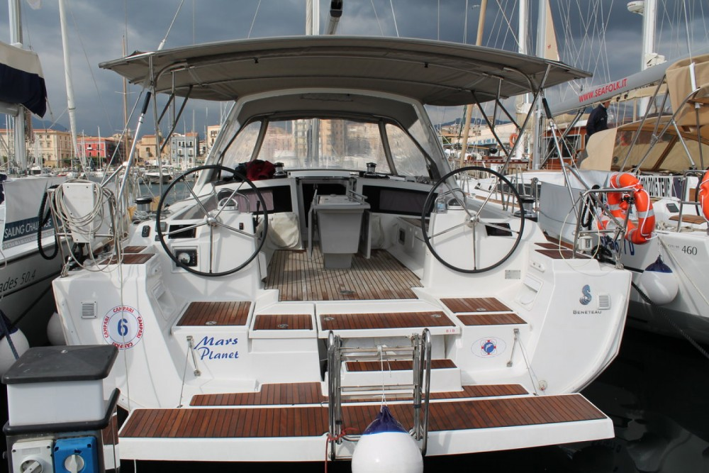 Boat rental Marsala cheap Oceanis 48