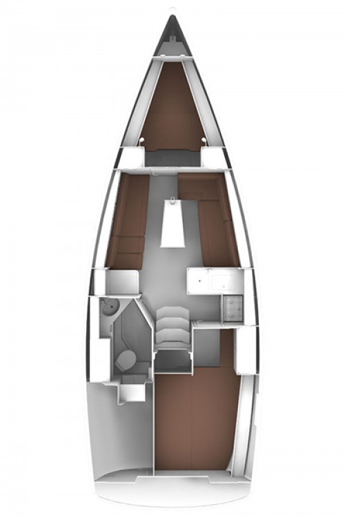 Bavaria Cruiser 33 between personal and professional Croatia