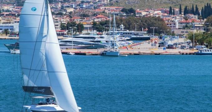 Location bateau Grèce-Centrale pas cher Lagoon 52