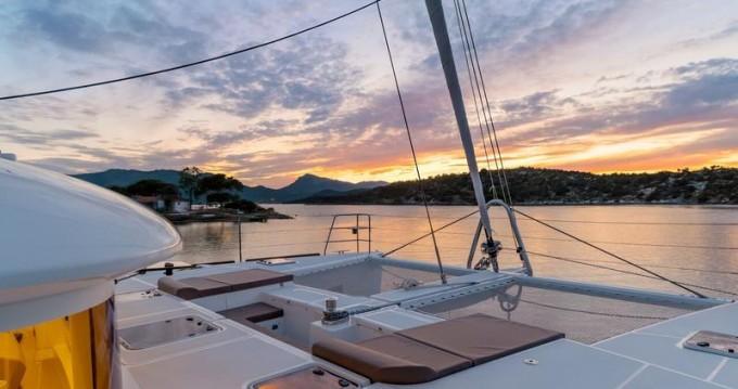 Location bateau Lagoon Lagoon 560 S2 à Grèce-Centrale sur Samboat