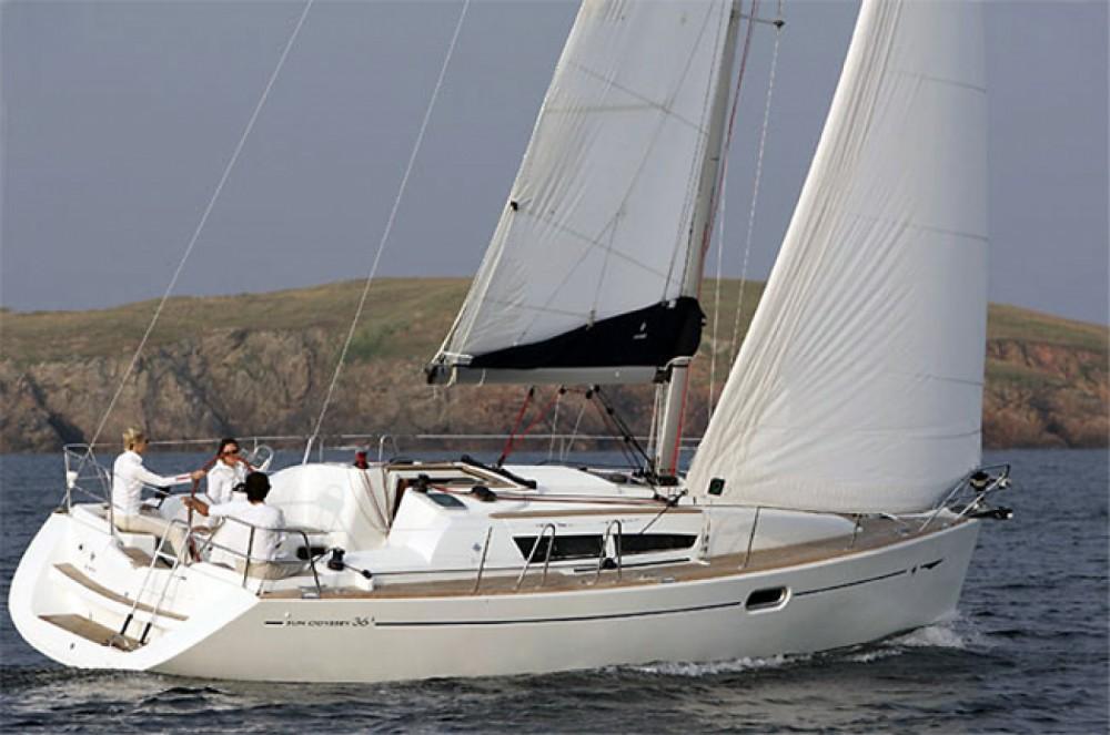 Location bateau Jeanneau Sun Odyssey 36i à Corfou sur Samboat
