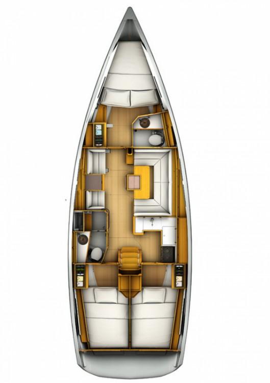 Boat rental Jeanneau Sun Odyssey 409 in Kos on Samboat