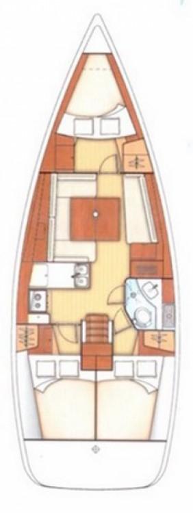 Bénéteau Oceanis 37 entre particuliers et professionnel à Anzio
