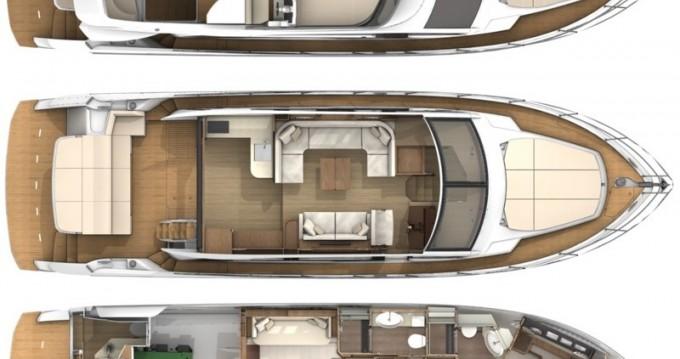 Location Bateau à moteur à Hyères - Absolute Yachts Absolute 52 Fly