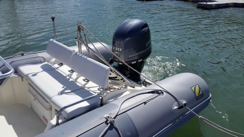 Location bateau Zodiac Pro Open à Le Palais sur Samboat