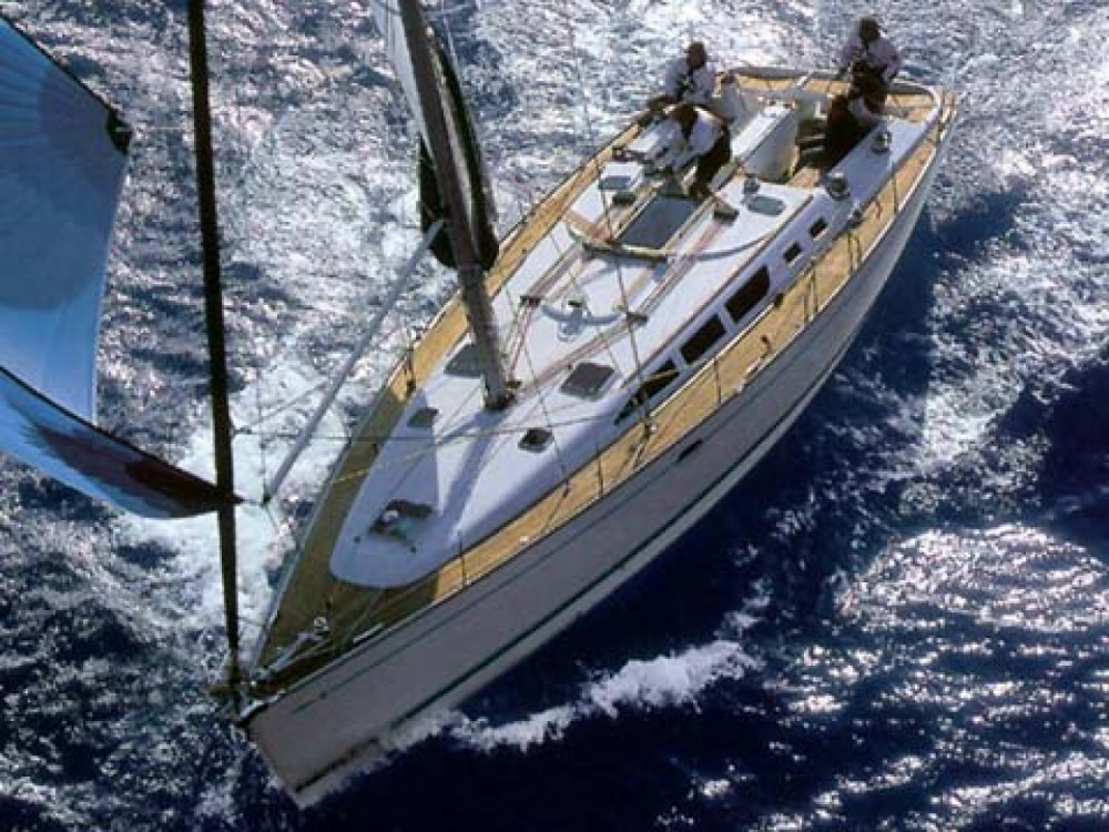 Jeanneau Sun Odyssey 43 between personal and professional Campania