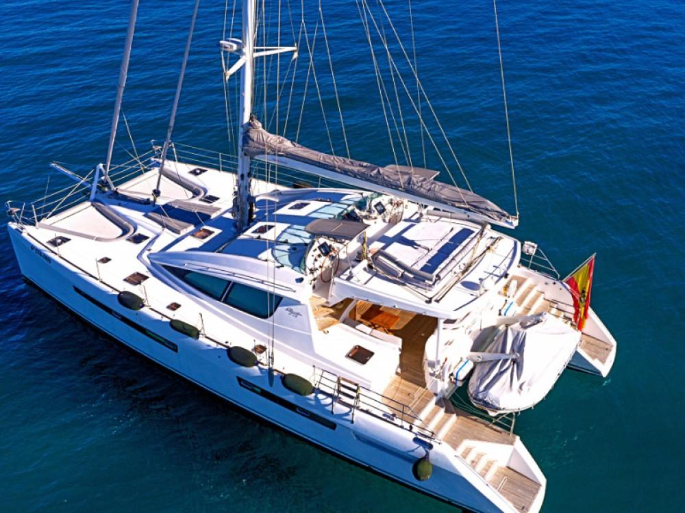 Rental Catamaran in Balearic Islands - Alliaura Privilege 615