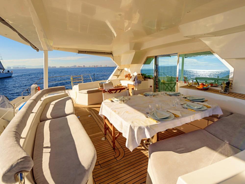 Rental yacht Balearic Islands - Alliaura Privilege 615 on SamBoat