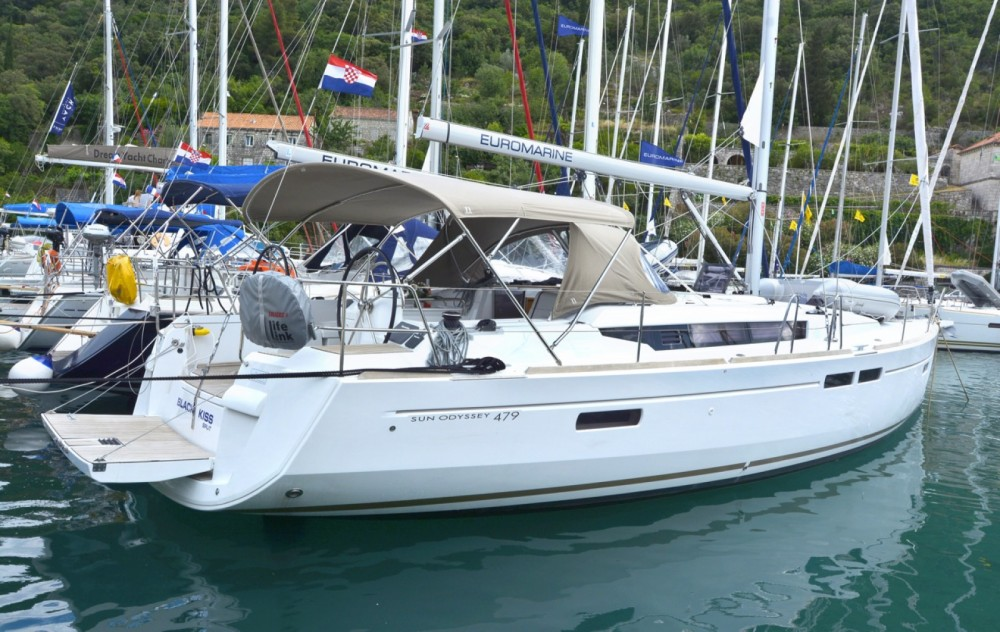 Jeanneau Sun Odyssey 479 between personal and professional ACI Marina Dubrovnik