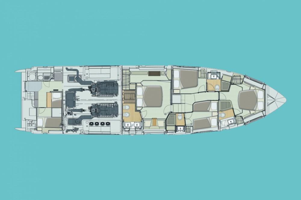 Rental Yacht in Šibenik - Azimut Azimut 72