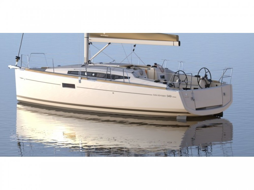Jeanneau Sun Odyssey 349 between personal and professional Volos