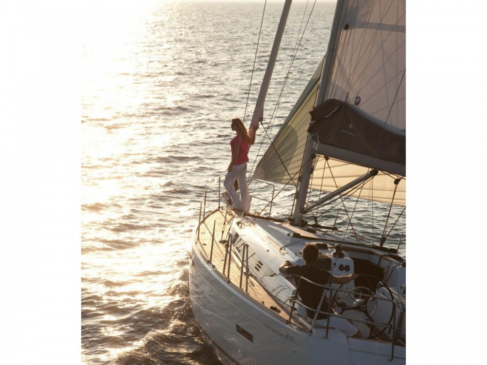 Boat rental Volos cheap Sun Odyssey 419