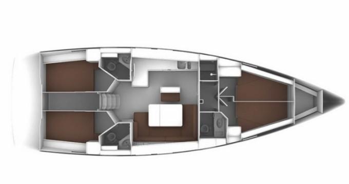 Location bateau Bavaria Cruiser 46 à Biograd na Moru sur Samboat
