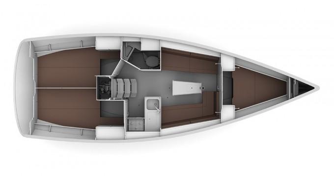 Bavaria Bavaria Cruiser 34 - 3 cab entre particuliers et professionnel à Biograd na Moru