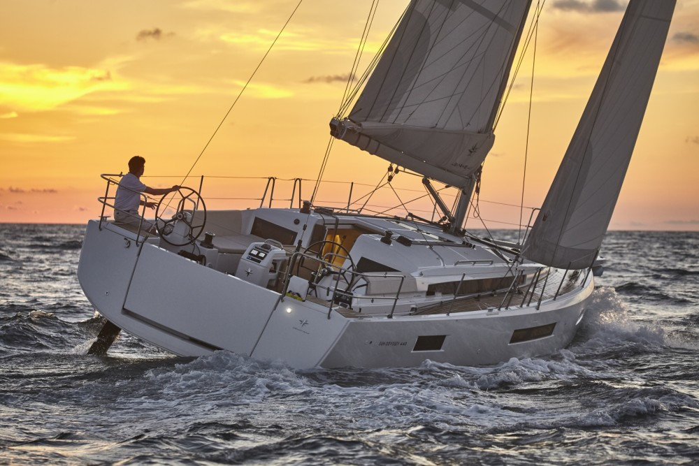 Jeanneau Sun Odyssey 440/3cab. between personal and professional Pula