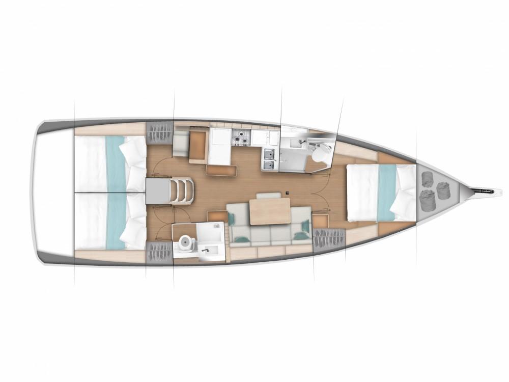 Boat rental Pula cheap Sun Odyssey 440/3cab.