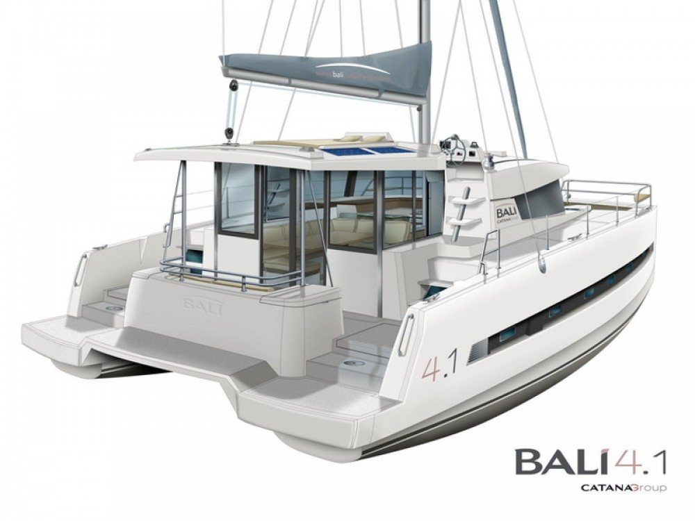 Hire Catamaran with or without skipper Bali Pula