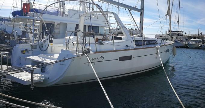 Location bateau Bénéteau Oceanis 45 à Bar sur Samboat