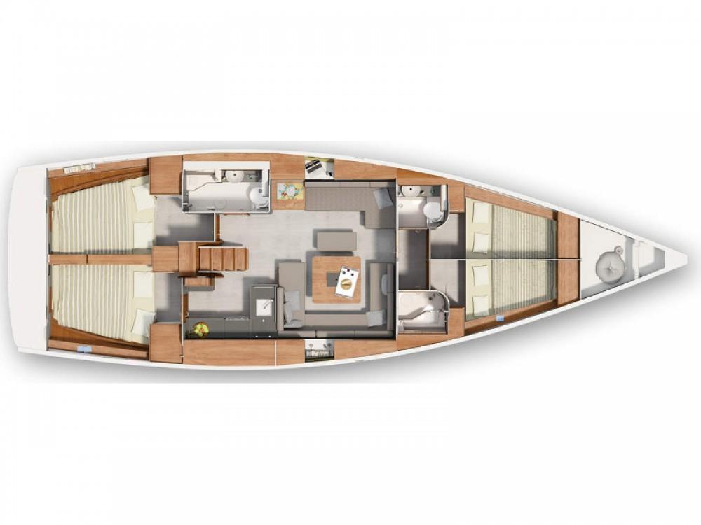 Boat rental Hanse Hanse 455 in ACI Marina Split on Samboat