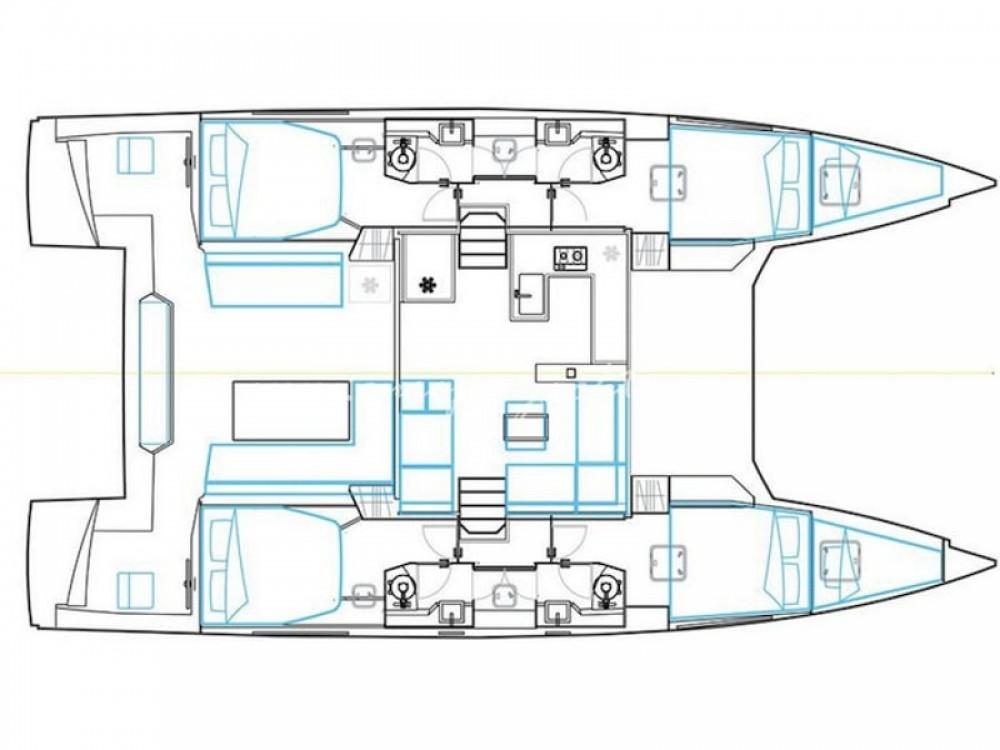 Boat rental Nautitech Nautitech 46 Fly in Marmaris on Samboat