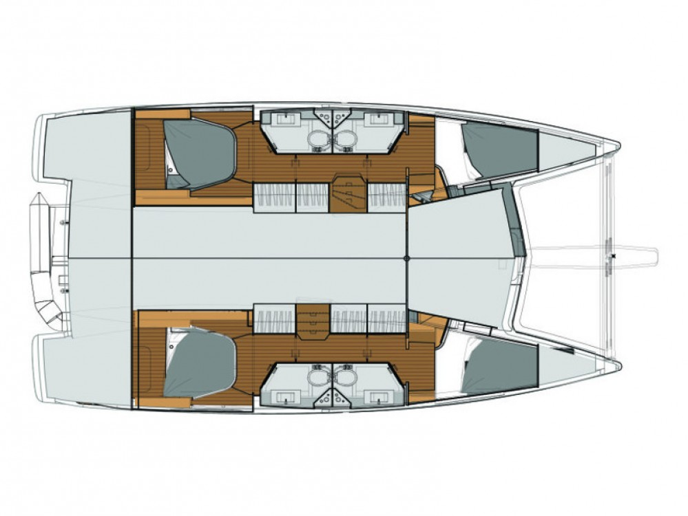 Rental yacht Tivat - Fountaine Pajot Lucia 40 on SamBoat