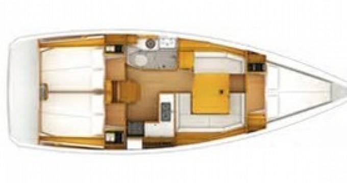 Location bateau Jeanneau Sun Odyssey 389 à Primošten sur Samboat