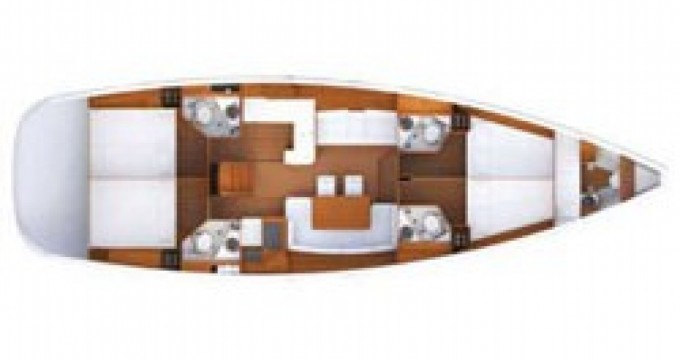 Location bateau Primošten pas cher Jeanneau 53