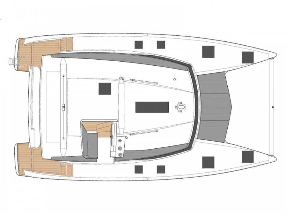 Hire Catamaran with or without skipper Fountaine Pajot Castellammare di Stabia